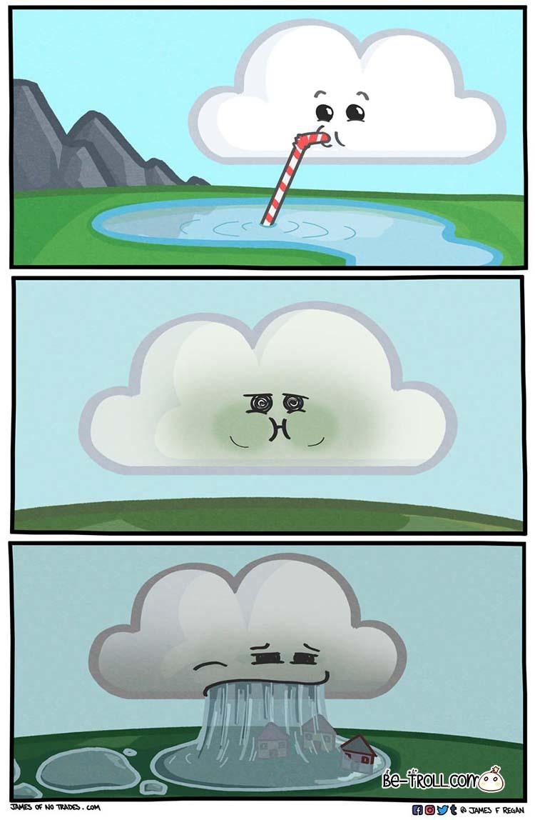 Y así funciona el clima