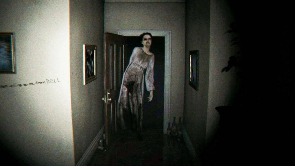 """Lisa, el fantasma del juego """"P.T."""", ha estado siempre flotando detrás del jugador"""