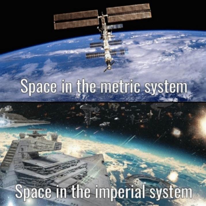 Antes obligan a todo el resto del mundo a usar el sistema imperial...