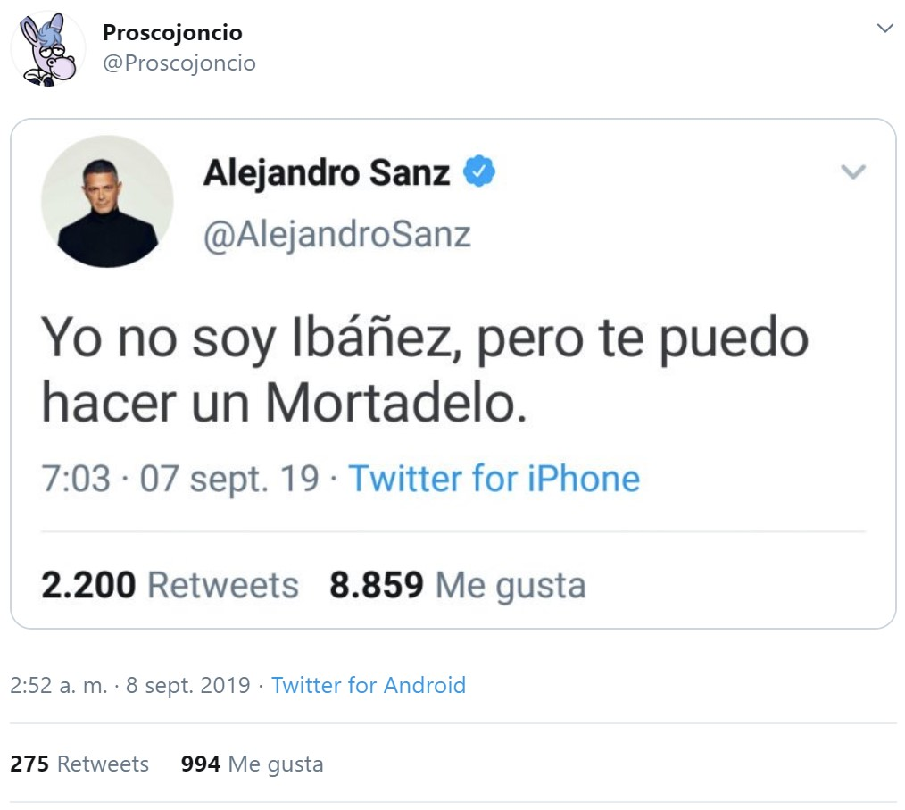 Alejandro Sanz sigue desatado con su misticismo tuitero