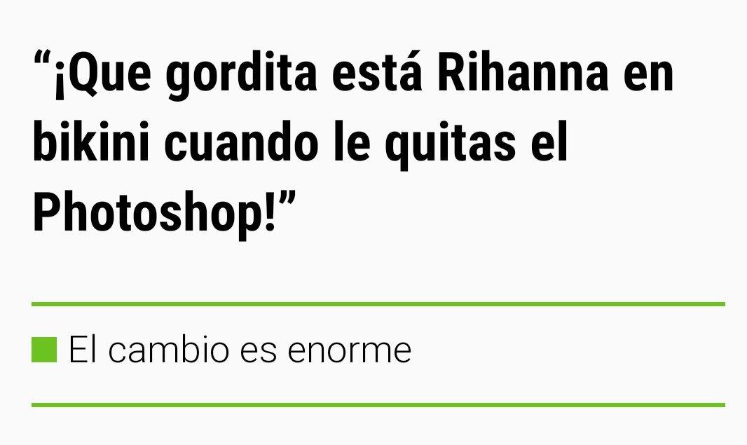 """Rihanna """"sin"""" Photoshop"""