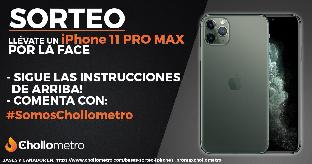 Chollómetro sortea una unidad del recién presentado iPhone 11 PRO MAX