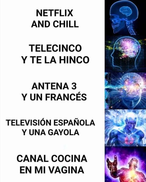 Netflix and chill y sus derivados