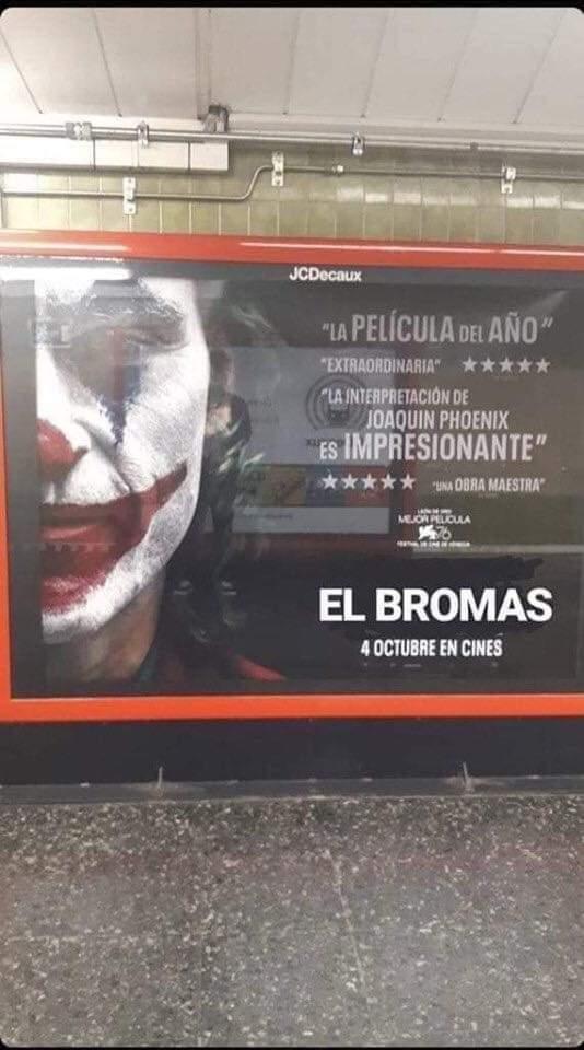 EL BROMAS