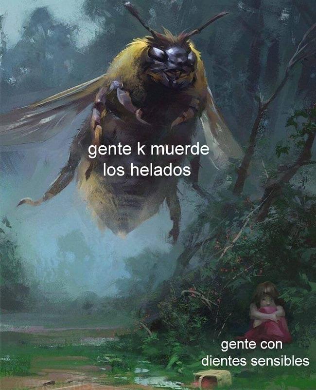Yo... MUERDO LOS HELADOS