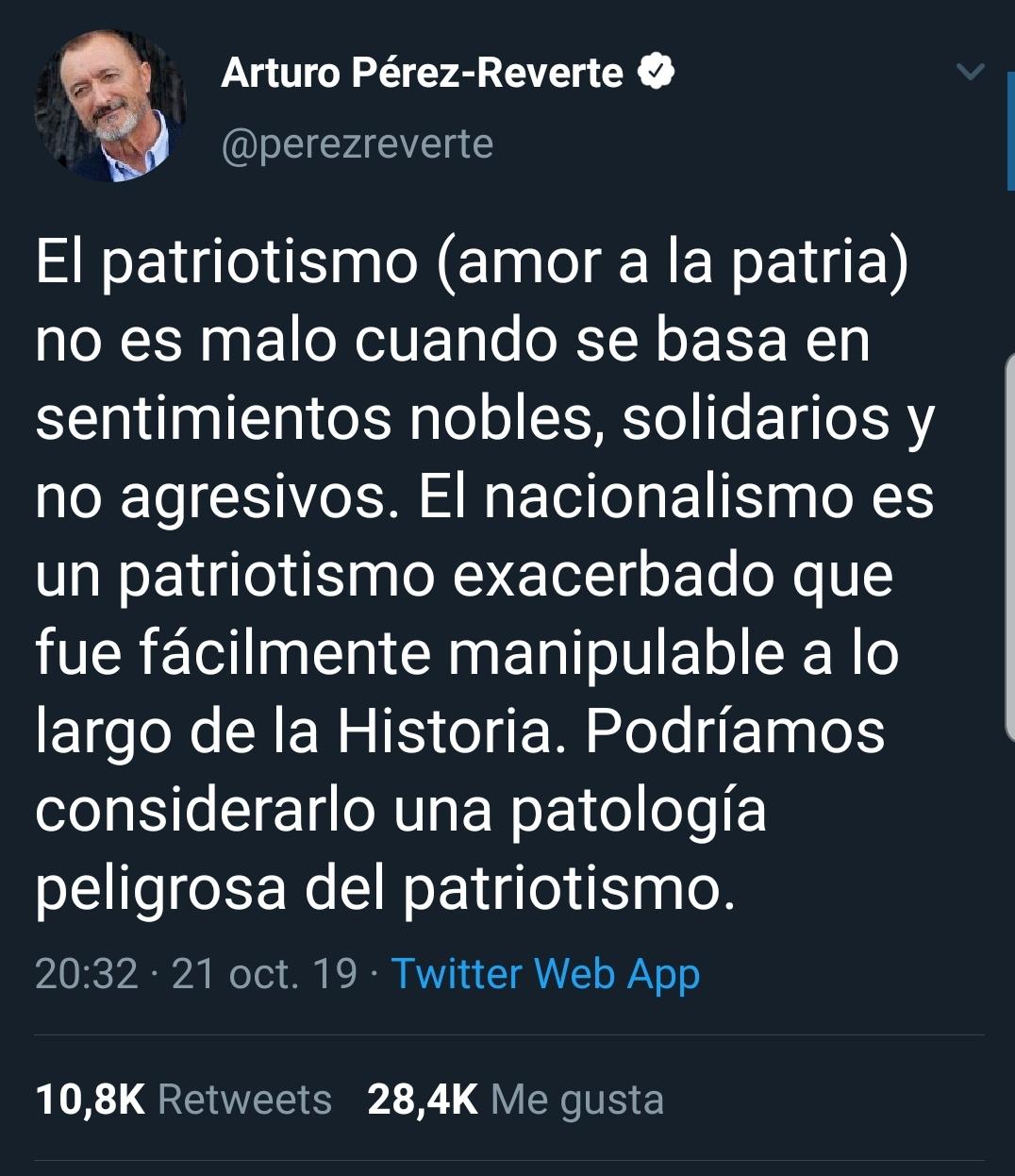 ¿Qué diferencia hay entre los nacionalismos y el patriotismo?