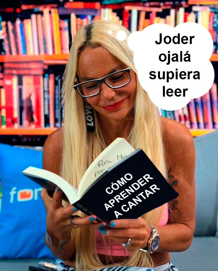 Leti Sabater estrena libro y nos está pidiendo algo