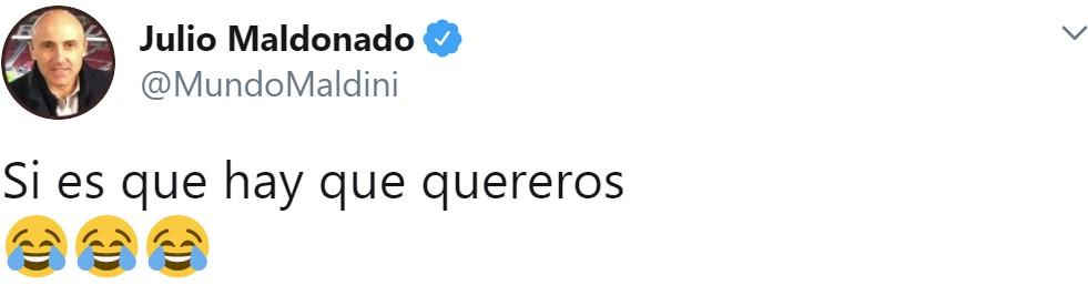 Hasta Maldini está sufriendo la furia gitana de los independentistas en Twitter