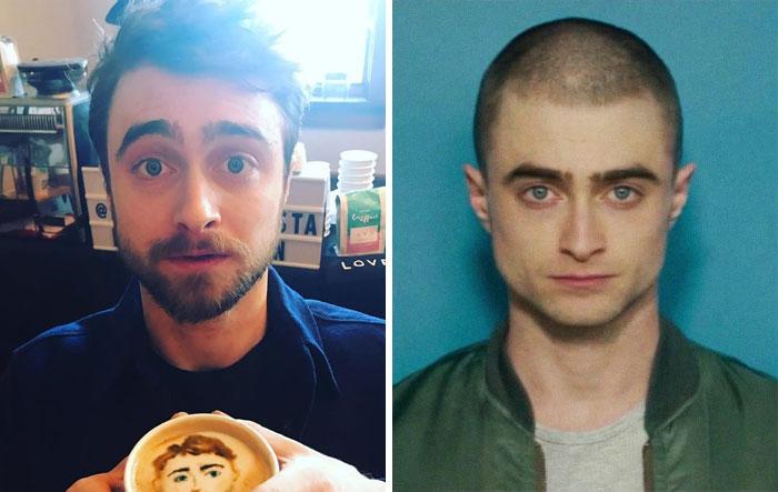 30 famosos antes y después de raparse