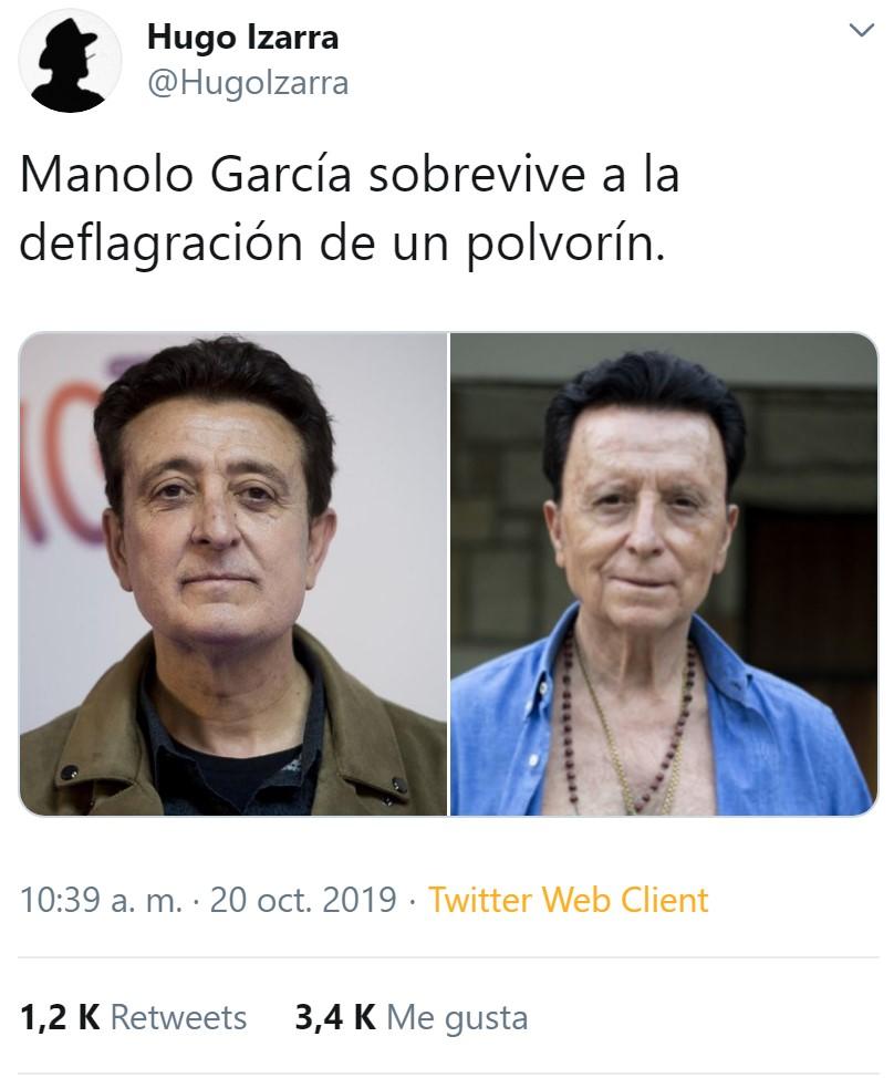 Manolo García viajó al pasado para ser torero