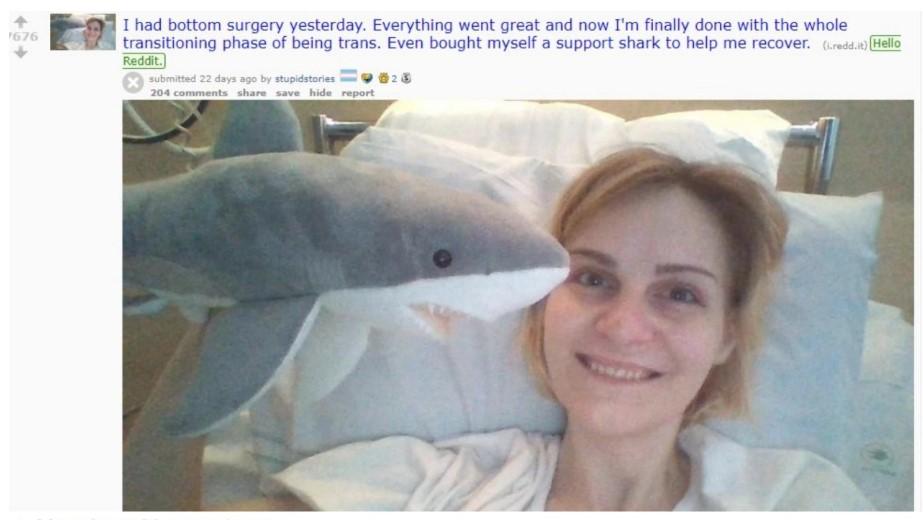 Arrepentida tras hacerse una vaginoplastia