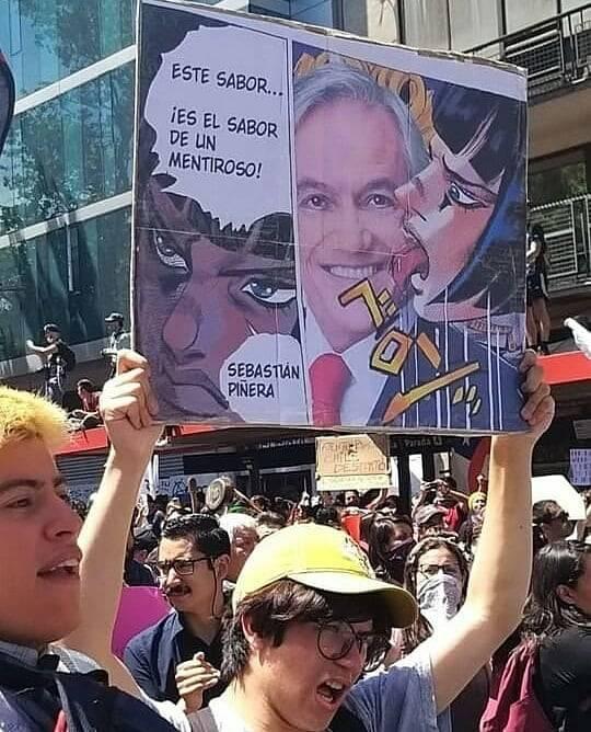 En Chile están perdiendo la paciencia