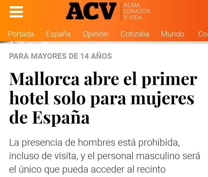 """Mallorca abre el primer hotel de España solo para españoles"""