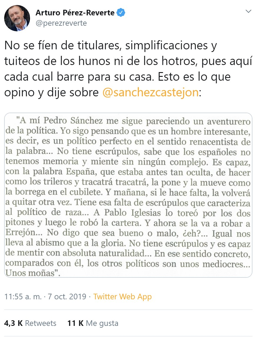 """PDRO SNCHZ: """"La nación de naciones estaría formada por España, Cataluña, Galicia y País Vasco"""""""