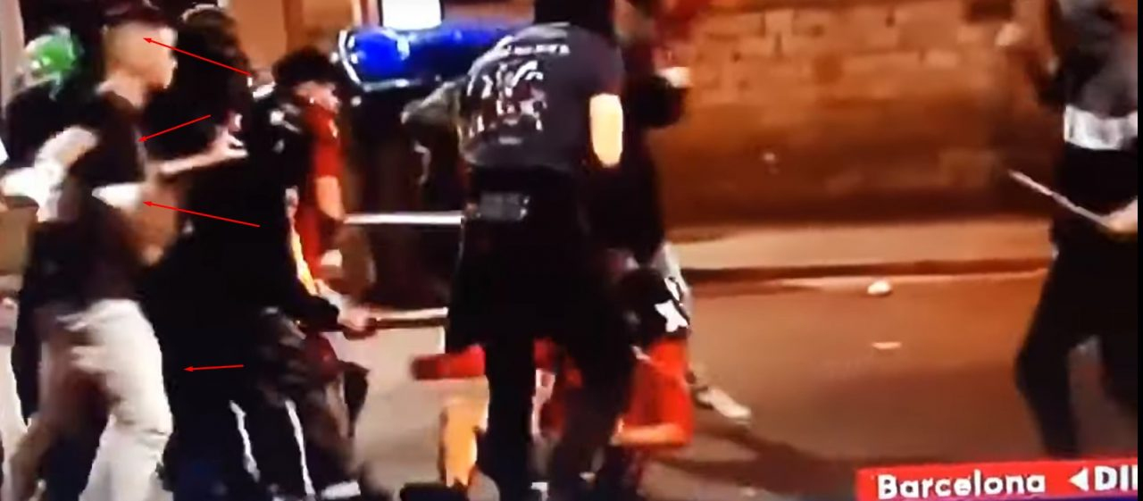 Xavi, de hermano mayor, a dar palizas en Barcelona