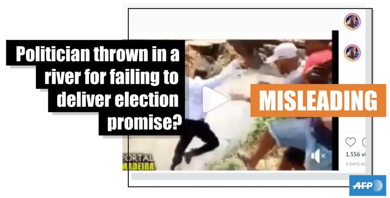 Cuando tienes los SANTOS CОJОNES de ir a pedir el voto a un barrio en el que prometiste construir un puente en las elecciones anteriores