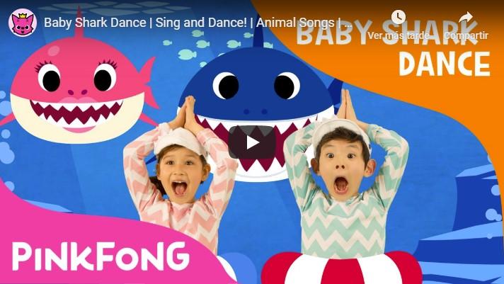 Baby Shark llega a los 10.000 millones de reproducciones en Youtube