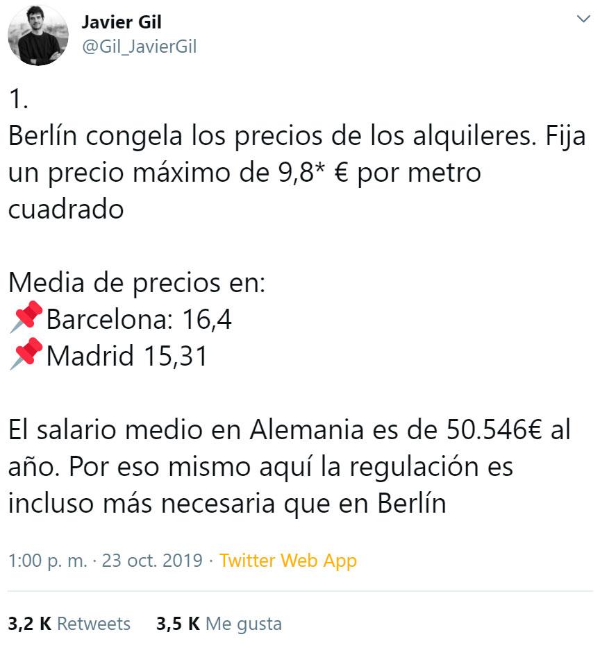 Limitar el alquiler en España, ¿Buena idea?