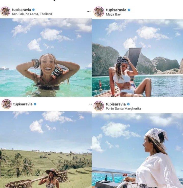Las influencers de Instagram se copian hasta las nubes...