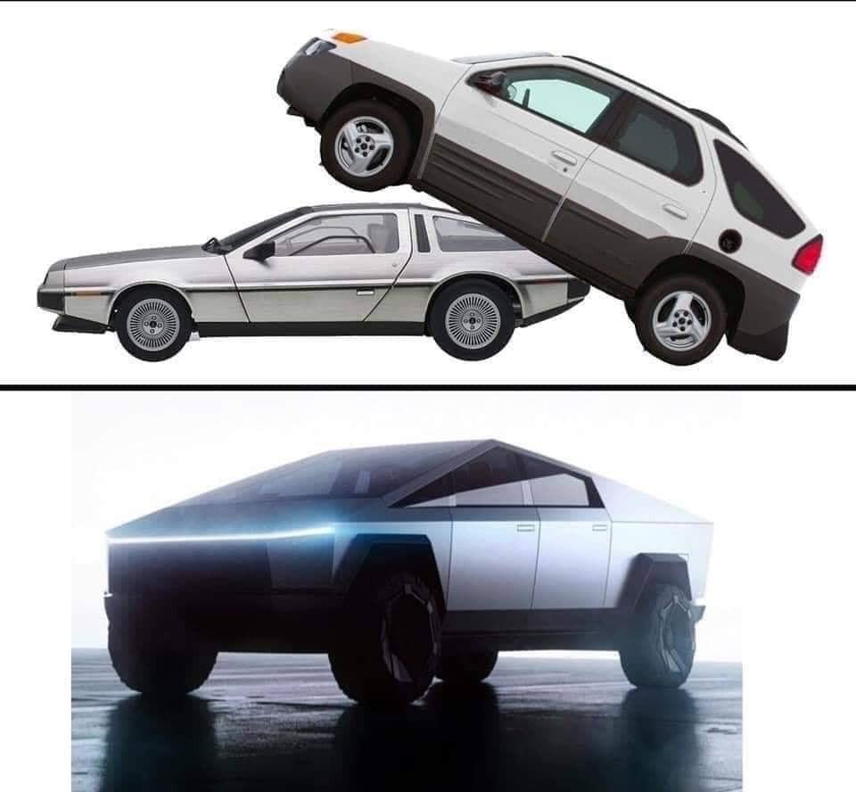 Coche de Walter White + coche de Rick Sánchez = ...