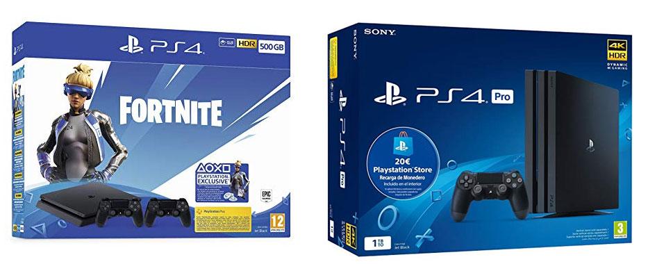 Hoy la PS4 y PS4 Pro están más baratas que nunca