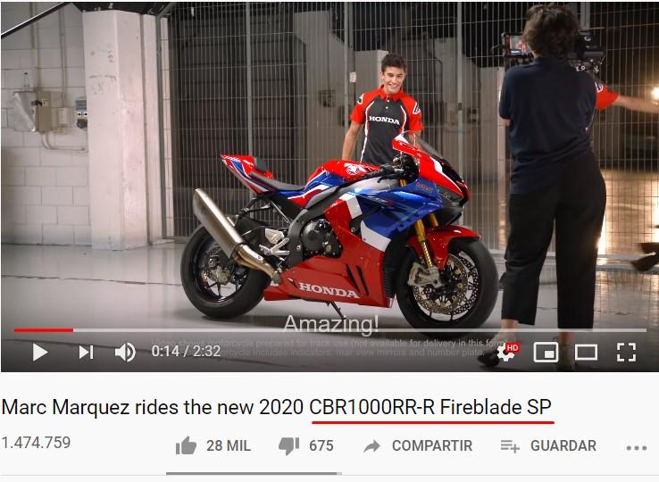 Honda CBR1000RR (Gato encima del teclado) Fireblade SP