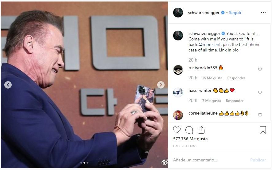 Chuache ha publicado esta foto en Instagram. Tiene la única carcasa que podía usar para su móvil