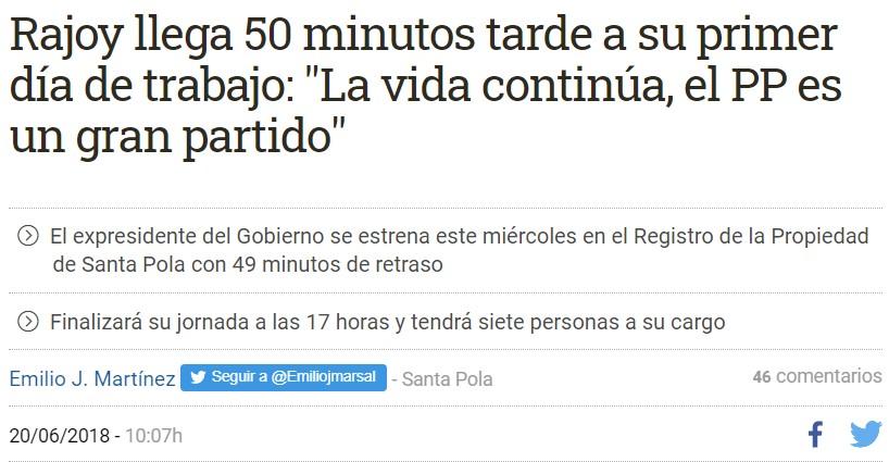 Echo de menos a Rajoy... marchando un remember para no perder la europea