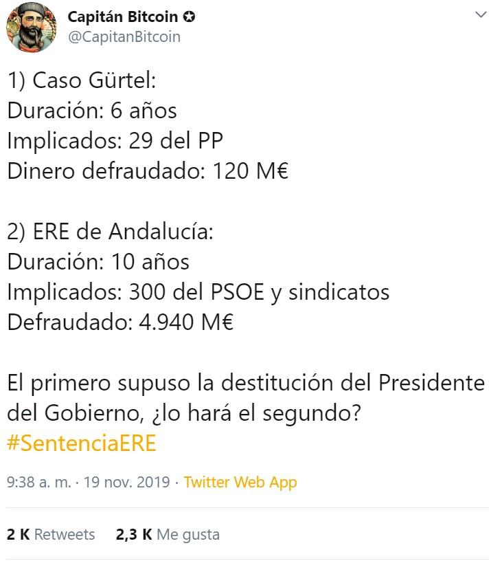 El Marqués de Galapagar en Mayo del 2018!