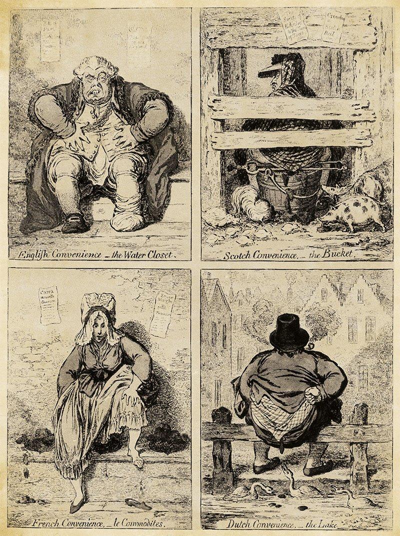 Alexander Cummings inventó el inodoro en 1775
