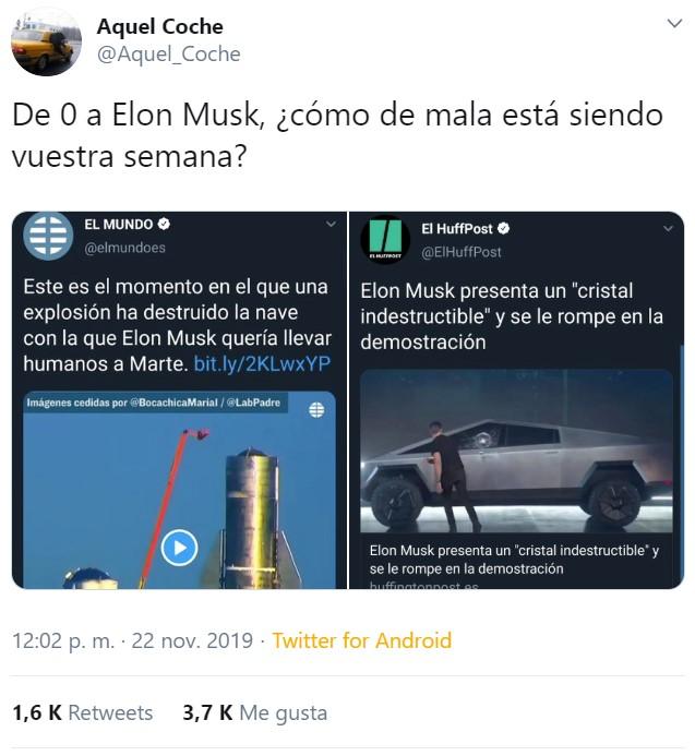 Elon Musk presenta el TESLA CYBERTRUCK