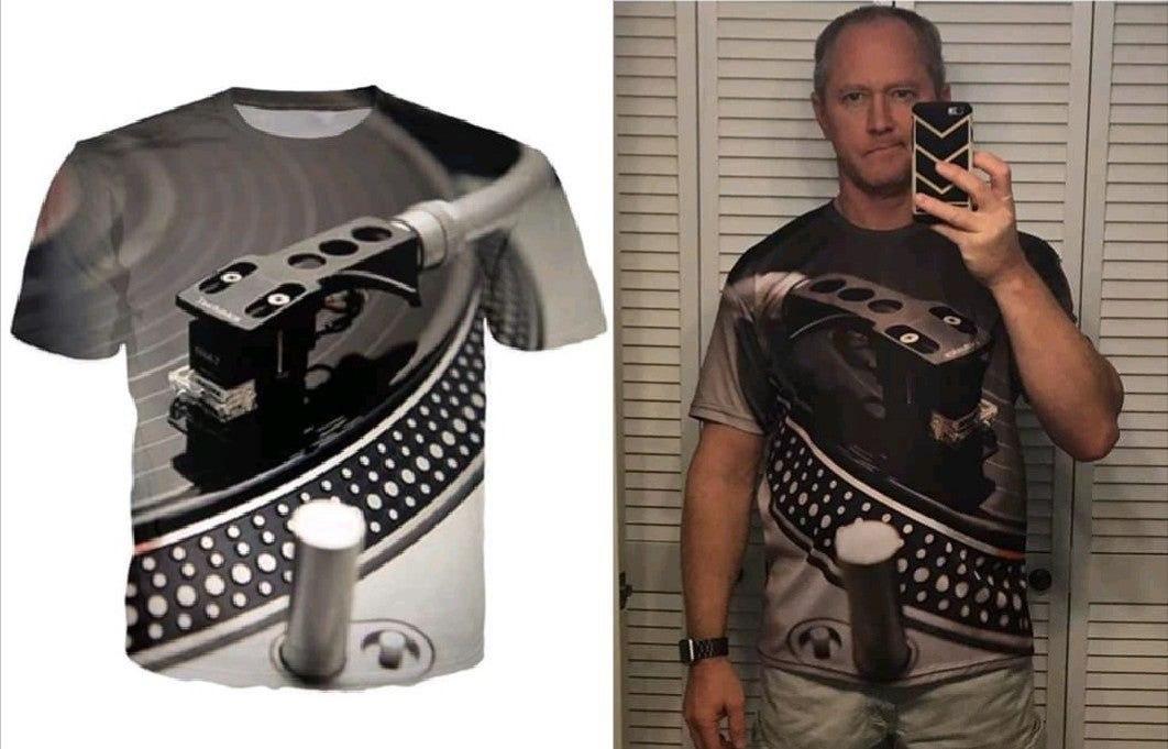 Camiseta para pinchar