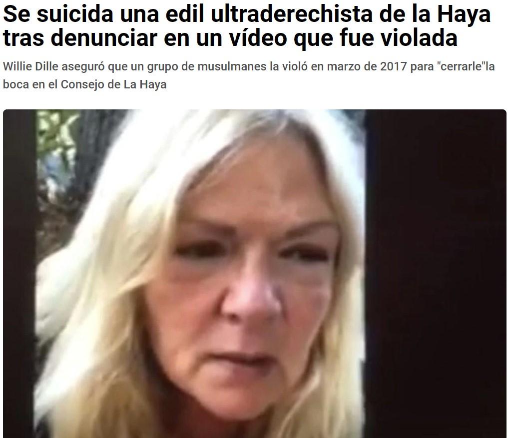 Habría sido una buena candidata a INVENT PARK, pero suicidarse le da bastante credibilidad...