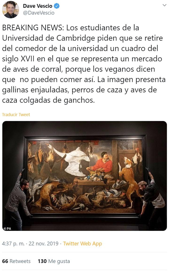 La Santa Inquisición vegana