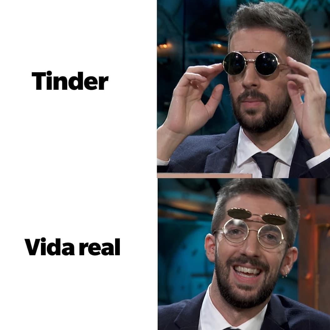 Las clásicas gafas de flipao