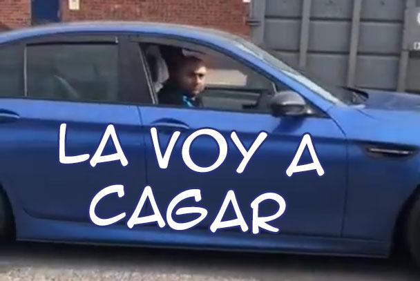 Vaya, qué raro... un BMW haciendo el capuIIo...