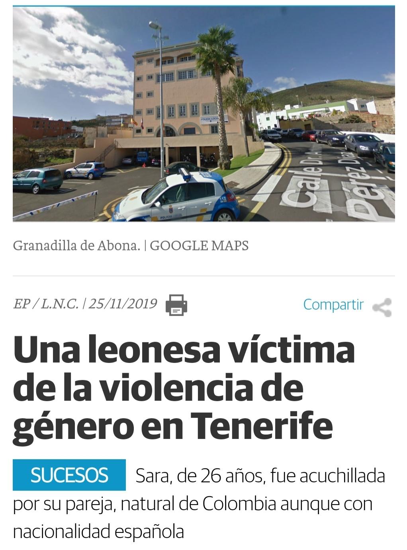 Nuevo caso de violencia de género
