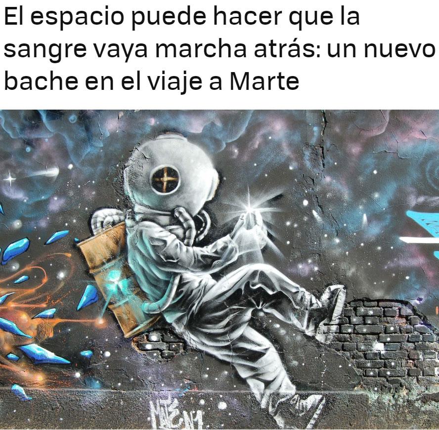 """""""Pequeño"""" contratiempo para la conquista de Marte"""