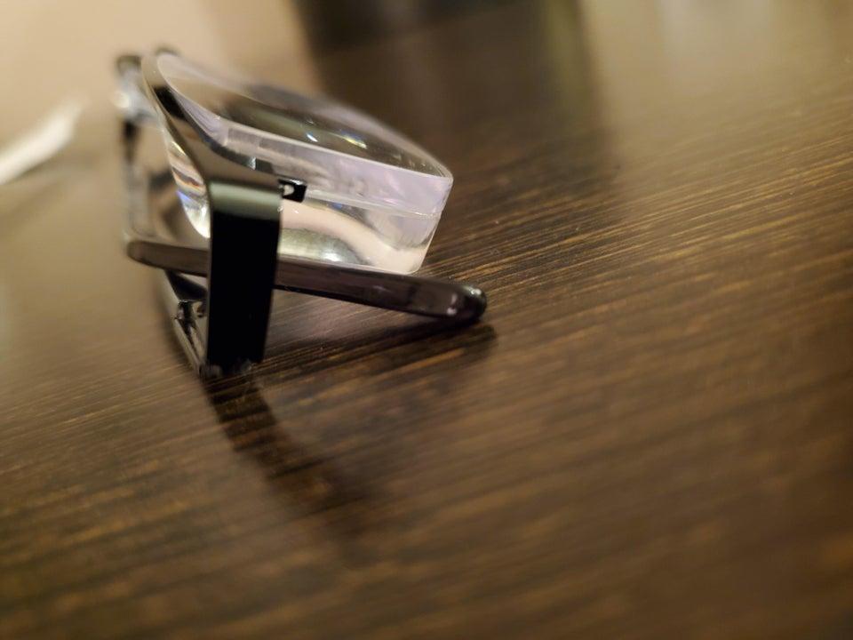 Gafas de cristal convencional con 11.50 dioptrías
