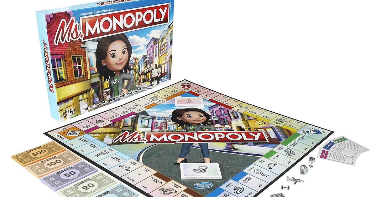 La empresa Hasbro presentó 'Ms. Monopoly', para reivindicar a las mujeres, dándoles más dinero a ellas al principio del juego
