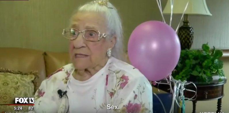 """""""Cuál es el secreto para llegar a los 100 años"""". Elegir a vuestro luchador"""