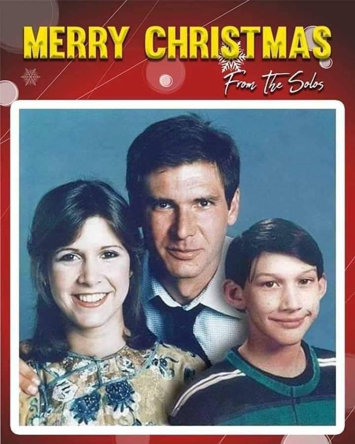 Felices fiestas a toda la galaxia