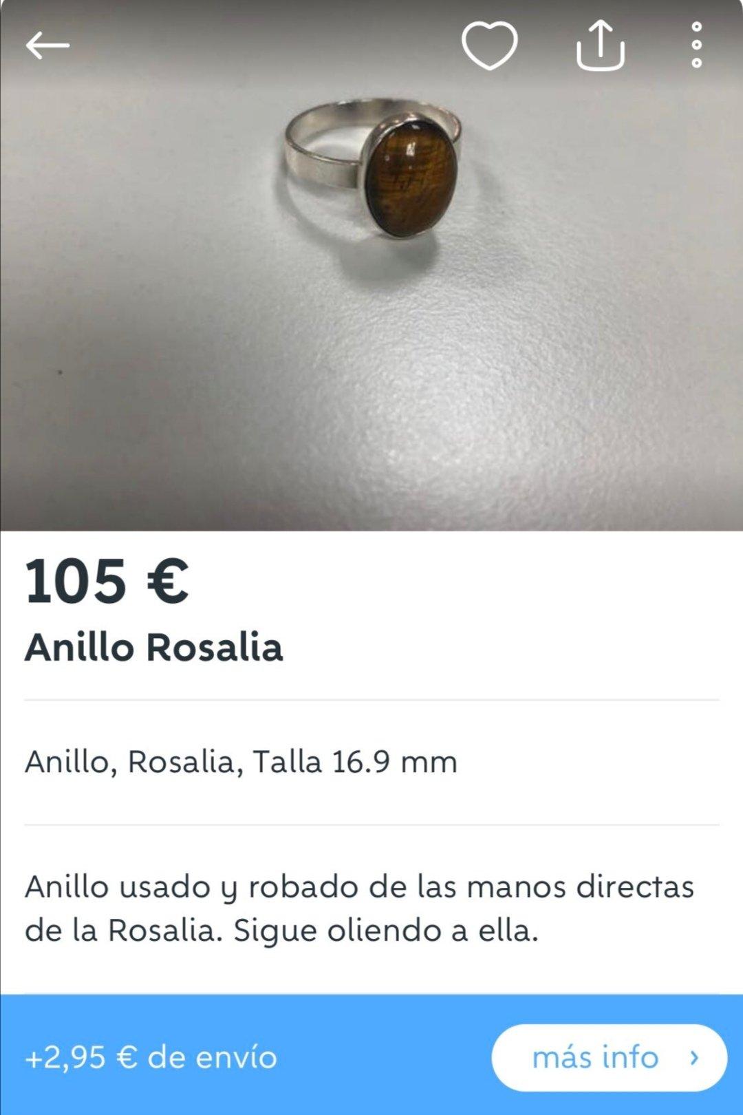 Remolque collar de plata Boho cadena larga varilla anillo damas de San Valentín regalo