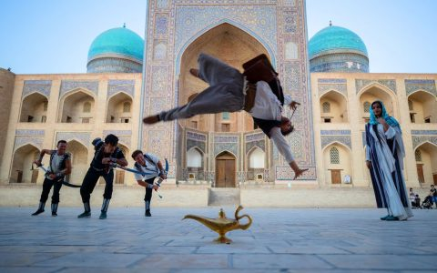 Aladdin Meets Parkour