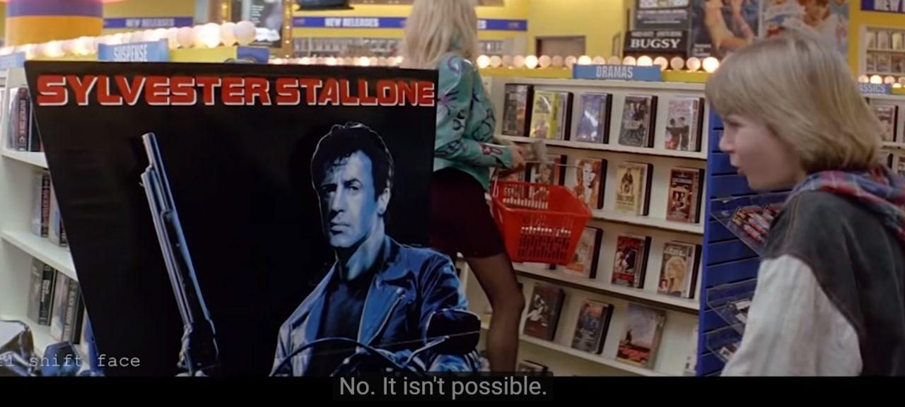 Home Stallone   Solo en casa pero con la cara de Sylvester Stallone