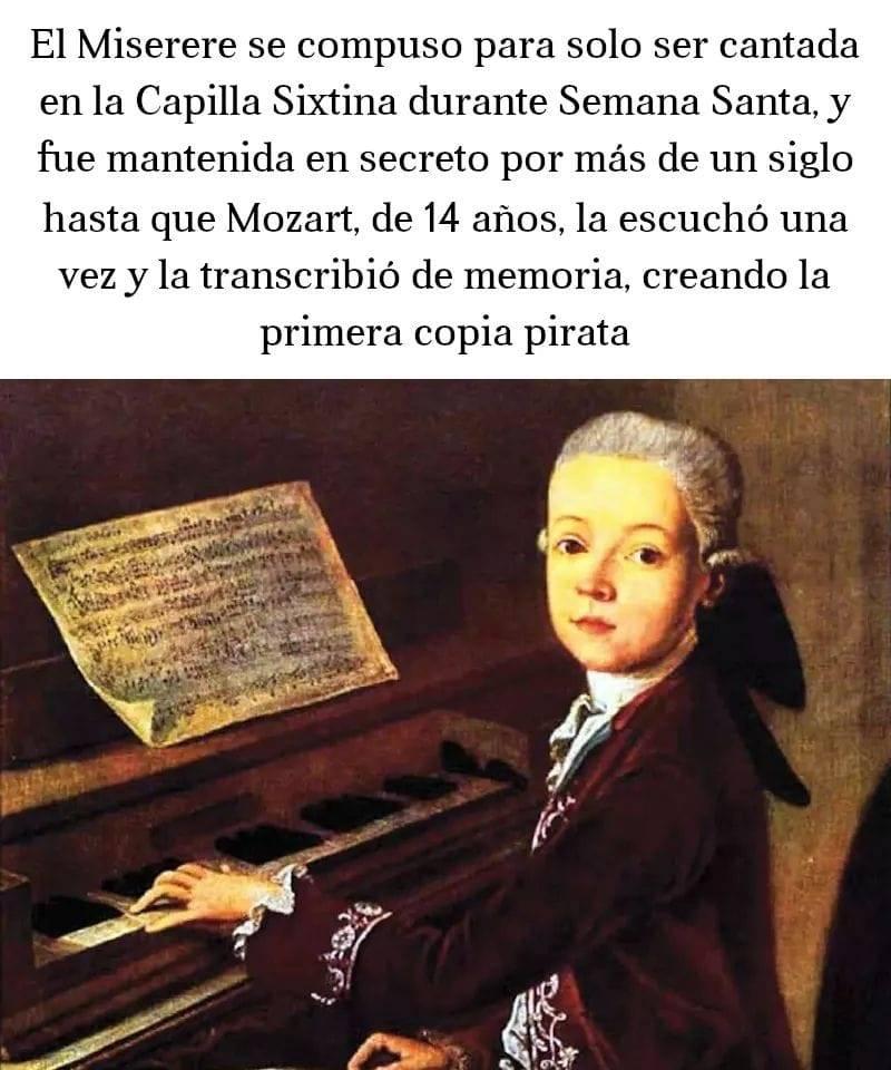 Mozart, contigo empezó todo
