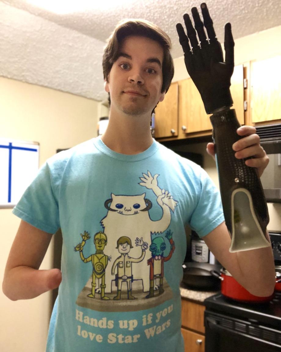 """""""Que levante la mano al que le guste Star Wars"""""""
