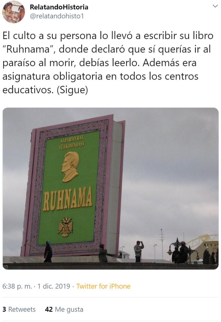 Turkmenistán: la otra Corea del Norte