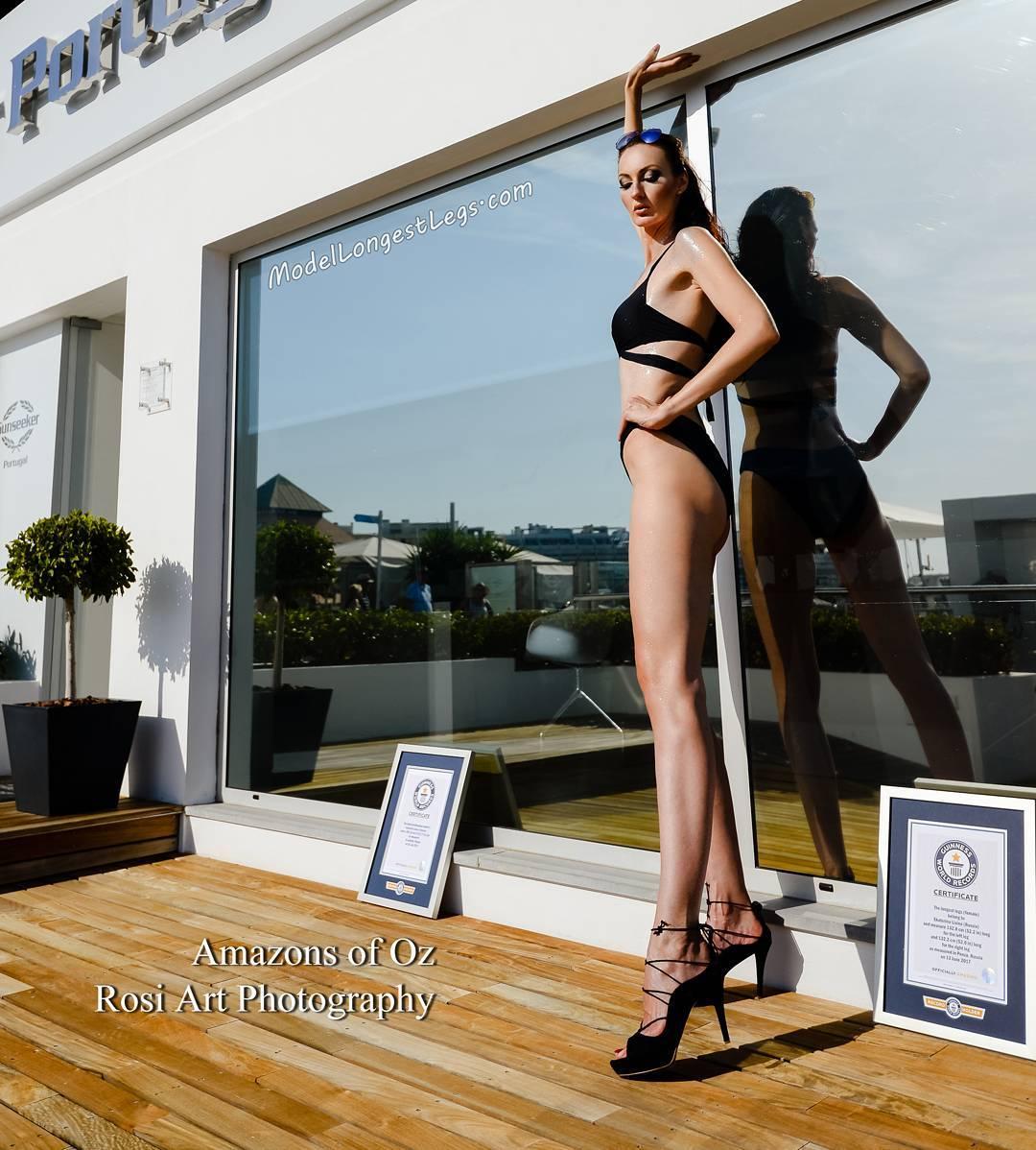Ekaterina Lisina: la rusa de 2,06 metros