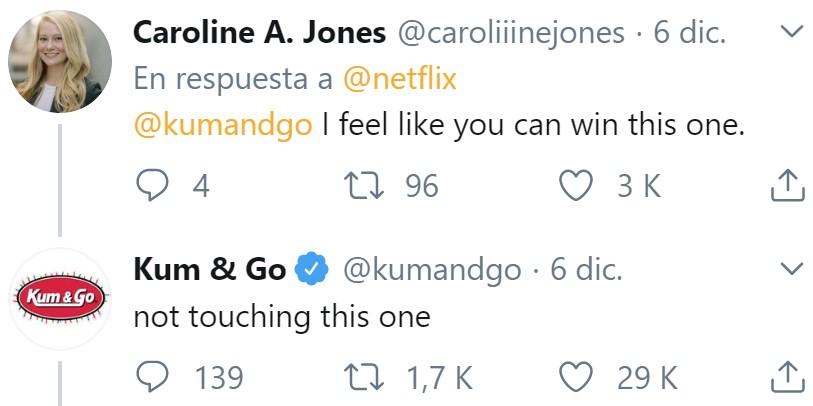 Netflix tiró la caña a todas las cuentas de Twitter de todas las marcas del mundo... y pescó, vaya si pescó...